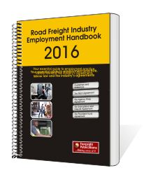 Road Freight Industry Employment Handbook 2016