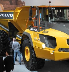 Goodyear Develops OTR Tyres for Volvo´s Biggest ADT