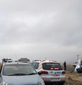 3 Killed as truck and car collide on the N11 between Volkrust and  Amersfoort, Mpumalanga.