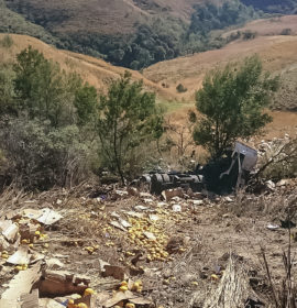 Van Reenen truck crash leaves one dead one injured