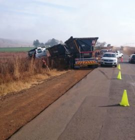 Woman killed as bakkie collides with truck on the R36 in Lydenburg