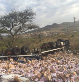 Two killed and 14 injured as taxi collides with truck in Mpumalanga