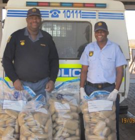 Truck driver arrested at Nakop border post smuggling Dagga from South Africa to Namibia