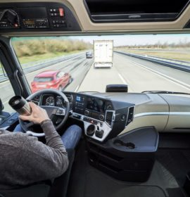 Daimler leading the way with the fully connected truck