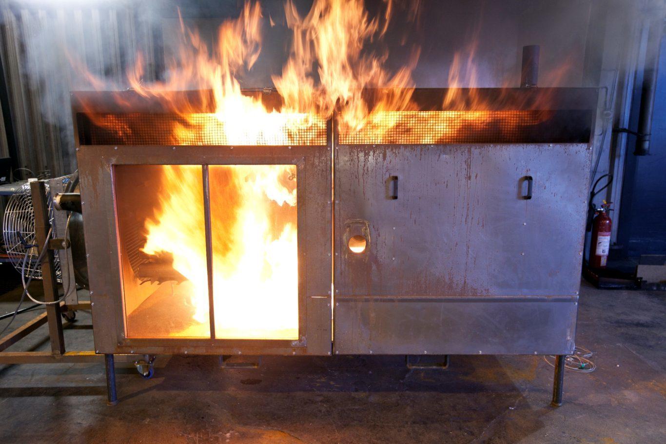 brand i bussmotor