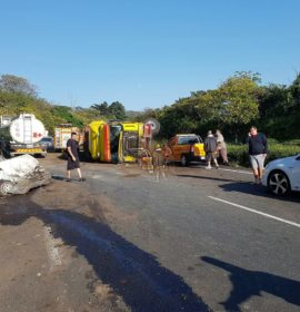 15 Injured in Pinetown crash