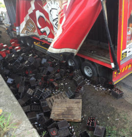 Theft suspects arrested after looting lost cargo