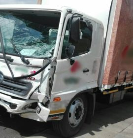 Brake Failure on truck blamed for crash in Edenvale