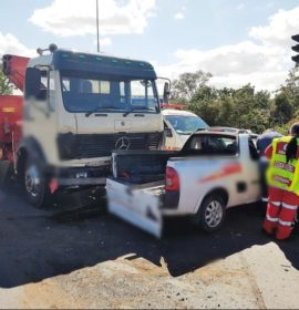 1 Injured in Pinetown Crash