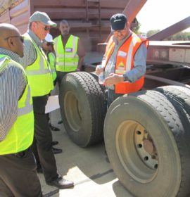 Bridgestone using technology to keep the trucks moving