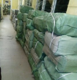 Counterfeit goods seized at Mbazwana during efforts to prevent cross-border crimes