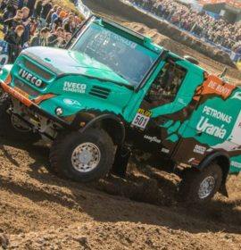 De Rooy Team Aims to Win the 2017 Dakar Rally on Goodyear Truck Tyres