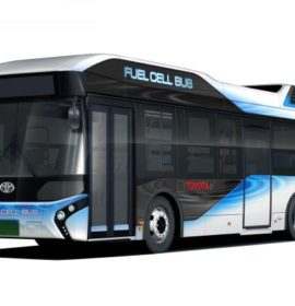 Toyota to Start Sales of Fuel Cell Buses