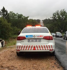 5 Injured when truck and taxi collided with each other on the R55 in Kyalami.