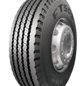Better life, wear from new Firestone trailer tyre