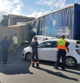 Minor injuries after pile- up in Umbilo, Durban