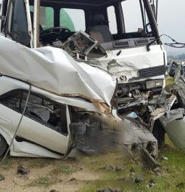 Diepsloot crash leaves three injured  – one dead