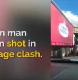 Man reportedly shoots himself in the hand after road rage altercation with truck driver