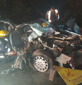 One critical, three injured in collision with truck, Magaliesburg