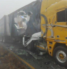 Fatality and several crashes after misty weather in Vaal/Sasolburg region