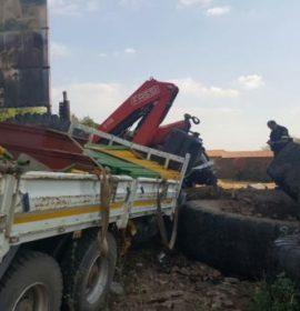 Three-vehicle collision leaved three dead, four injured, Krugersdorp