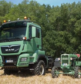 MAN Truck & Bus at AGRITECHNICA 2017