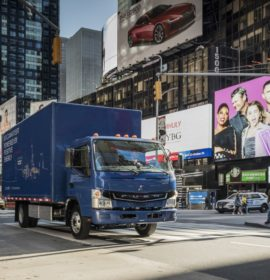Daimler Trucks launches first all-electric truck in series production – the FUSO eCanter