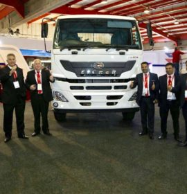Many new truck models launched at Futuroad Expo