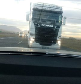 Dashboard Camera Recording comes to the Aid of Truck Driver accused of Reckless Driving