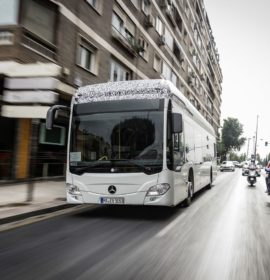 Mercedes-Benz Citaro fully‑electric city bus: Rhein‑Neckar‑Verkehr GmbH is the first customer