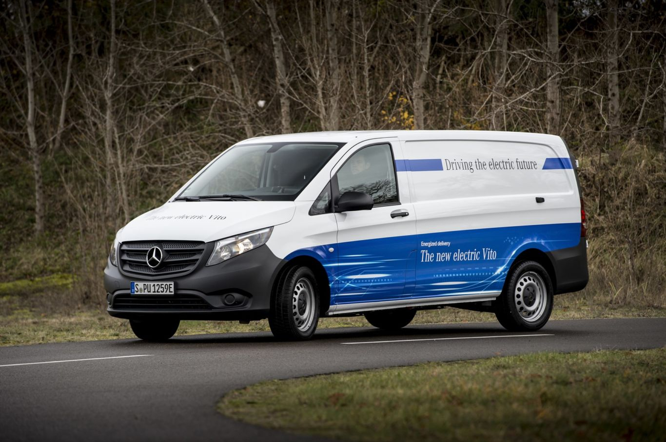 e8ed888638 Mercedes-Benz Vans plans to offer all its commercial van model lines with  electric drive. This will start with the mid-size eVito