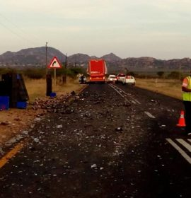 Serious road crash on the Gilead road at Ga-Manamela