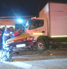 One killed in side-impact collision in Verulam