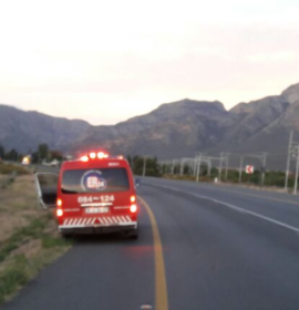 Man knocked down by truck on the N1 outside of Worcester