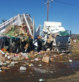 Fatal truck crash at the Smithfield and Bethulie crossing on the N6.