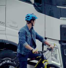 Volvo Trucks and a Global Campaign to keep Cyclists Safer
