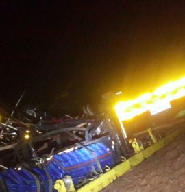Two killed, one critical after truck and two cars collide on the R71 in Magoebaskloof