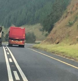 Unsafe overtaking by heavy vehicles… What could possibly go wrong?!!