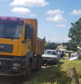 Reportedly Reckless Truck Driver blamed for road crash in Verulam