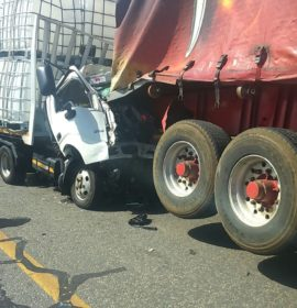 Truck driver killed after colliding with another truck at the Blockhouse rest stop in Henley-on-Klip