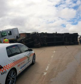 Driver escapes serious injury in truck crash on the N3 Durban Bound near Peacevale