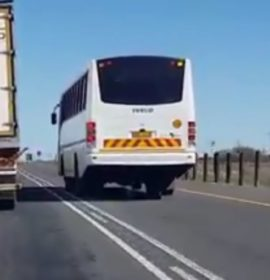 Illegal and Unsafe overtaking with bus on the N1 – Why? What does this tell us about the Driver?