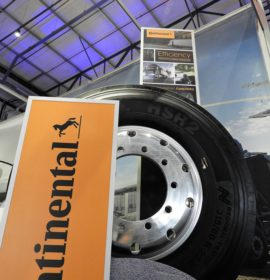Continental shines at TruckX Expo 2018