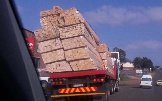 Ensure that all the loads transported are safely secured!!