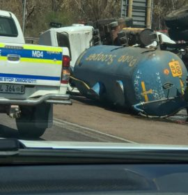 Head-on crash on the R101 near Moorddrift