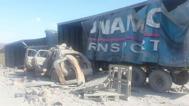 N1 between Kranskop and Middlefontein closed due to a multiple vehicle crash