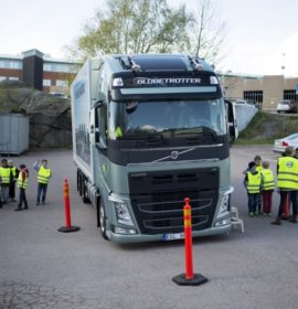 Volvo Trucks' continual road safety initiative for children