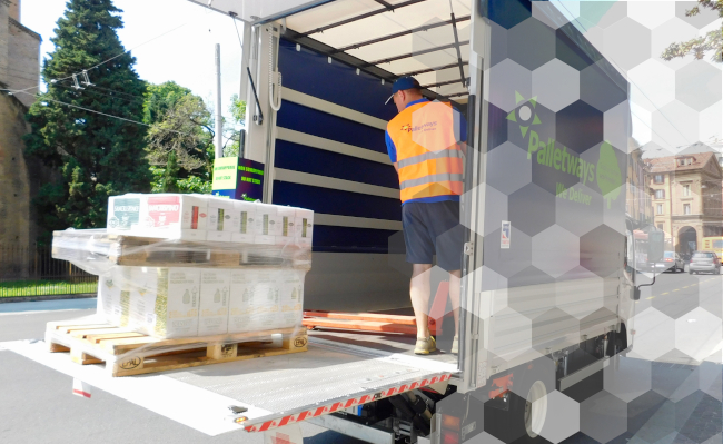 Palletways Italia goes green with electric trucks