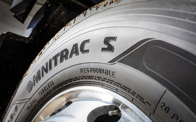 New OMNITRAC Mixed Service Truck Tyre Range from Goodyear