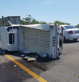 Two people have sustained serious injuries in an accident on the N2 South Bound before Higginson Highway